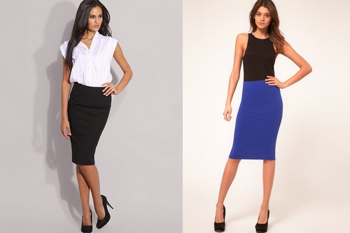 Sexy pencil skirts
