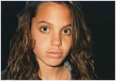 Jolie in 1988