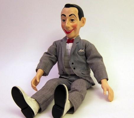 Talking Pee-Wee Herman doll