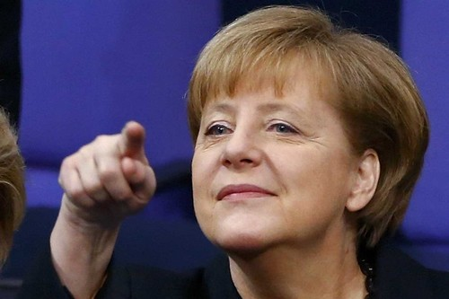 Angela Merkel Chancellor, Germany