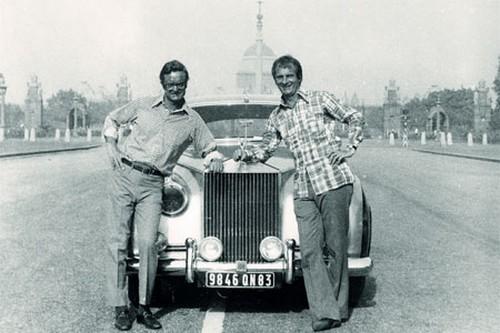 Dominique Lapierre and Larry Collins