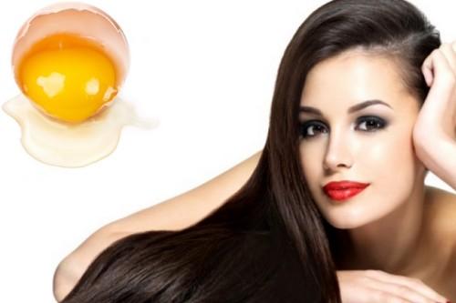 Egg yolk deep conditioning treatment