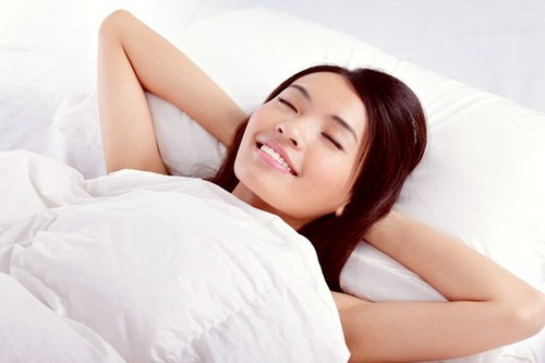 Sleeping Postures arms folded behind head