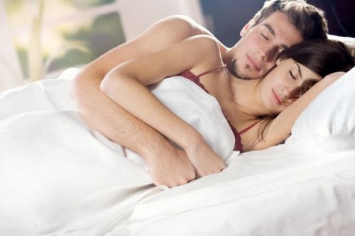 Sleeping with your beloved
