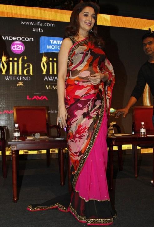 Madhuri Dixit Saree Sexy