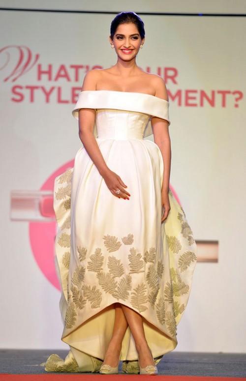 Sonam Kapoor at L'Oréal Paris.