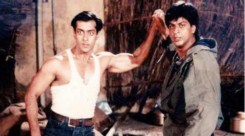 Salman and SRK fight