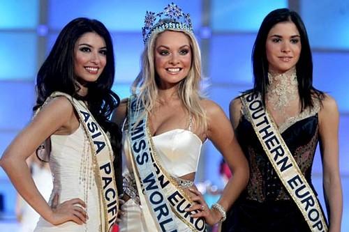 Miss World of Czechoslovakia