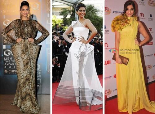 Worst Appearances of Sonam Kapoor