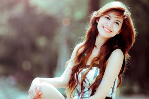 Cute Girl With A Cute Smile