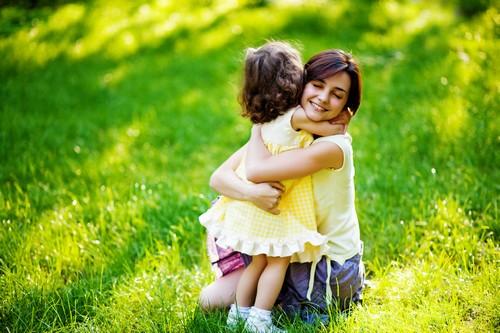 tenderness mother daughter