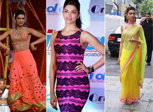 Deepika Padukone Neons Dresses