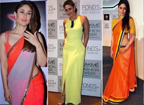 Kareena Kapoor Neons Dresses