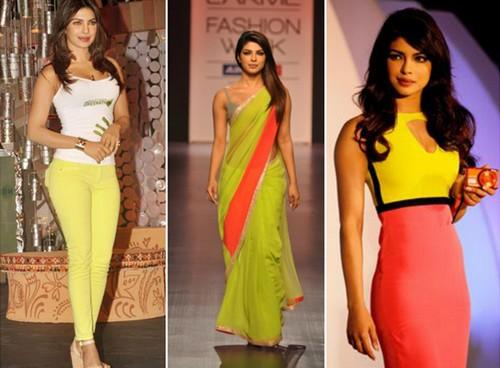 Priyanka Chopra in Neon