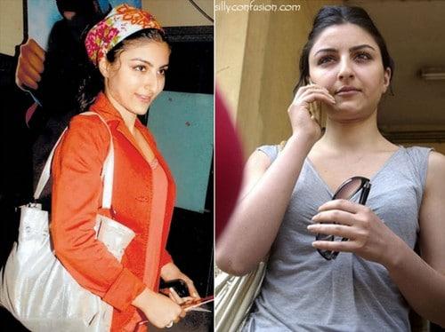 Soha Ali Khan without Makeup