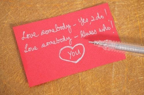 Write a Valentine Poem