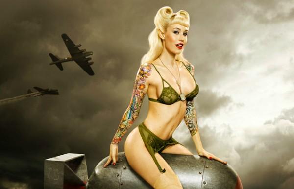 Sabina Kelly Most Sexy Alternative Beauty Models