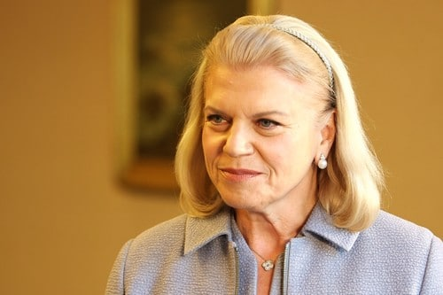 IBM CEO Virginia Rometty