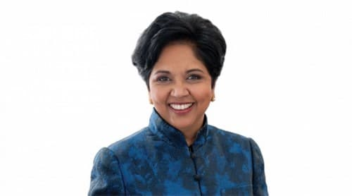 PepsiCo CEO and Chairman Indra Nooyi
