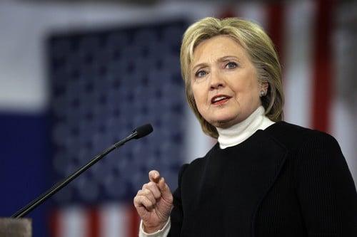 Powerful Lady Hillary Clinton