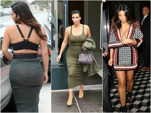 Kim Kardashian Spotted in NO UNDERWEAR