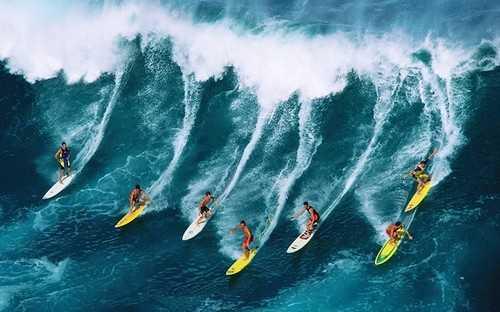 Most Dangerous Sports Surfing