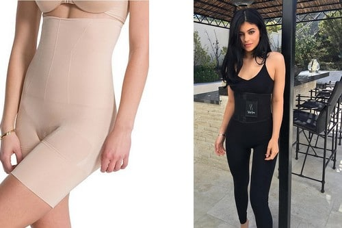 Kylie Jenner Shows Off Her Body Shapers