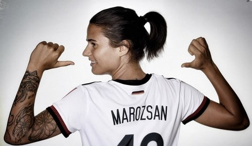 Dzsenifer Marozsan Best Female Soccer Players