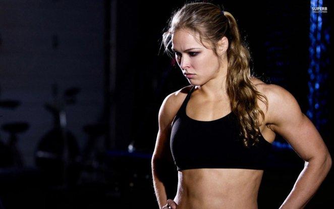 Ronda Rousey-Sexiest Woman Athlete