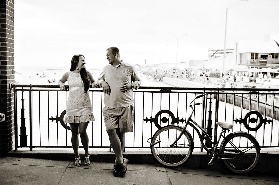Asbury Park Convention Hall Paramount Engagement Photo