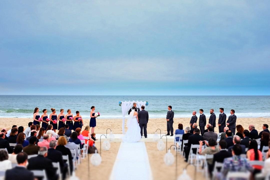 Long Island Beach Wedding Photo