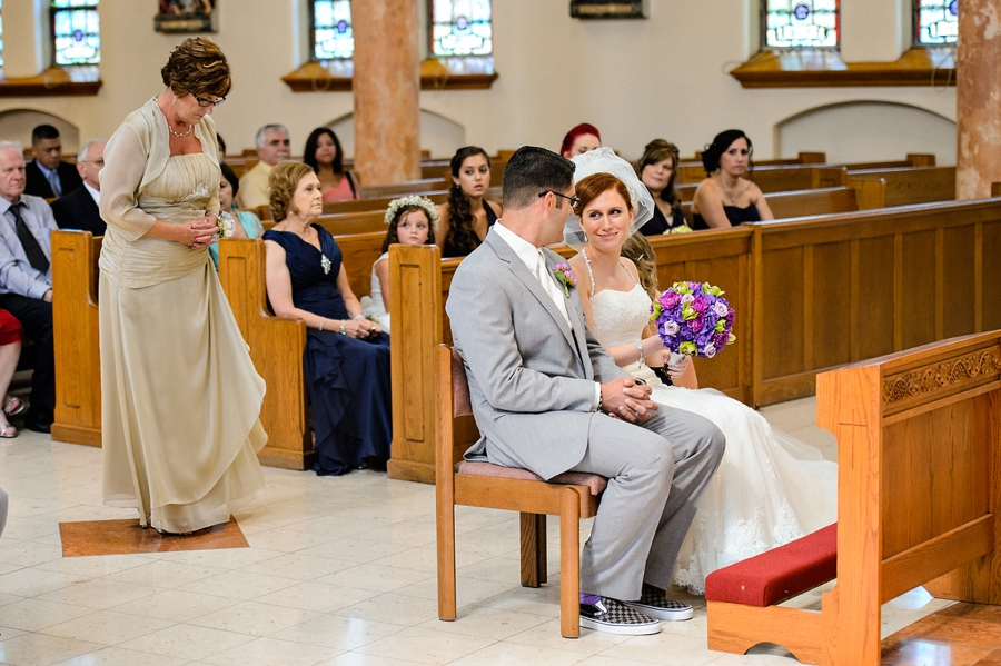 Candid Wedding Ceremony Photo