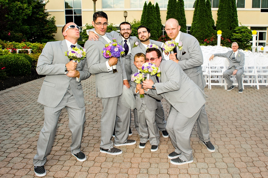 Silly Groomsmen Photos