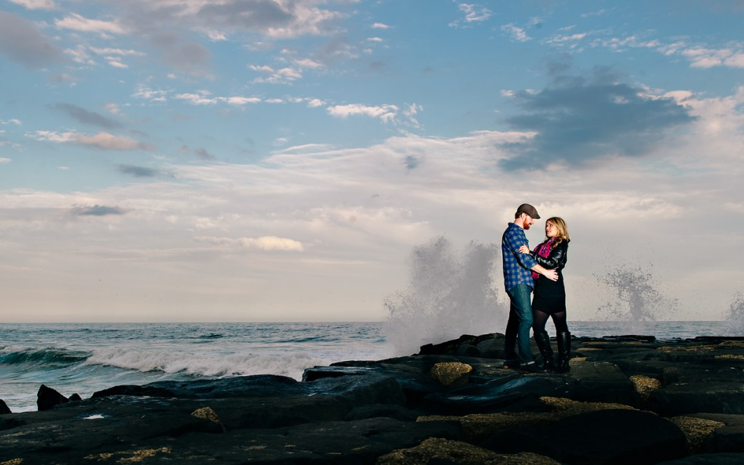 Asbury Park Engagement Teaser {Christina & David}