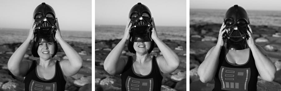 Darth Vader Wedding Bride