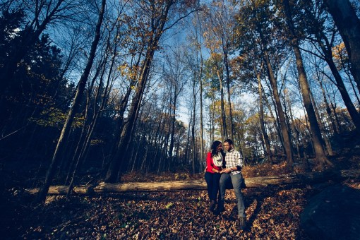 Jenny & Josh's Appalachian Trail Engagement Photos