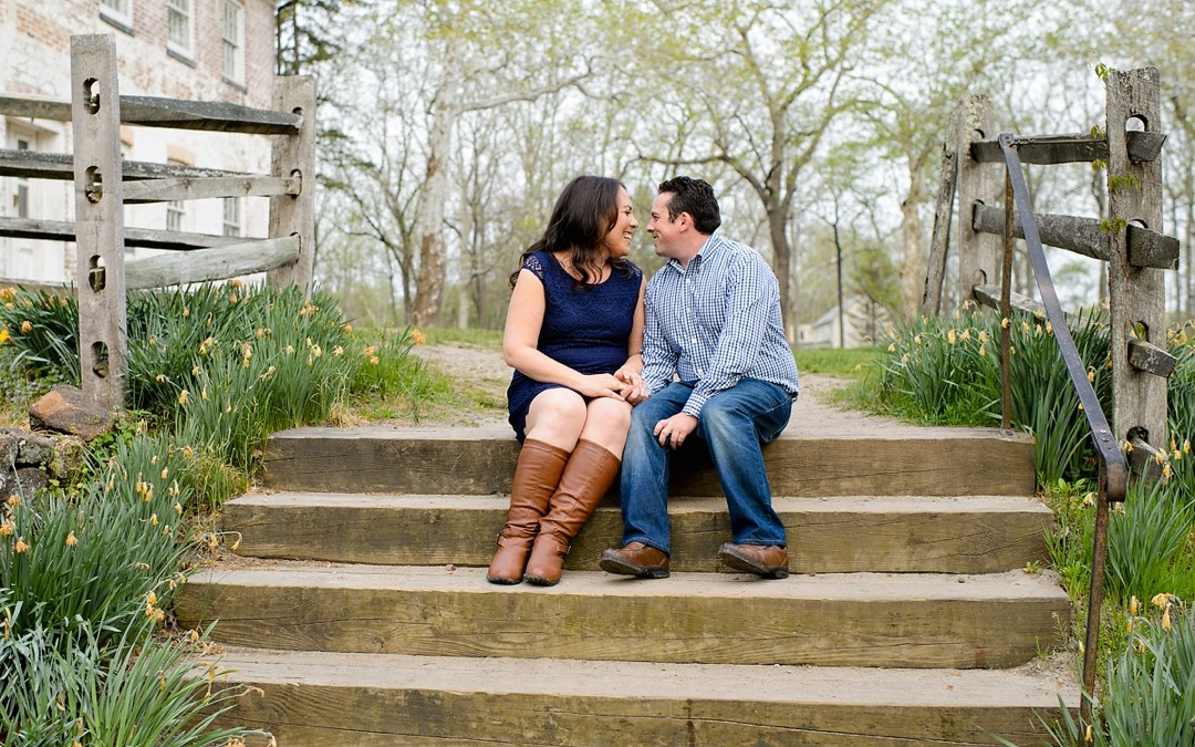 Allaire State Park Engagement Photos | Dana & Matt