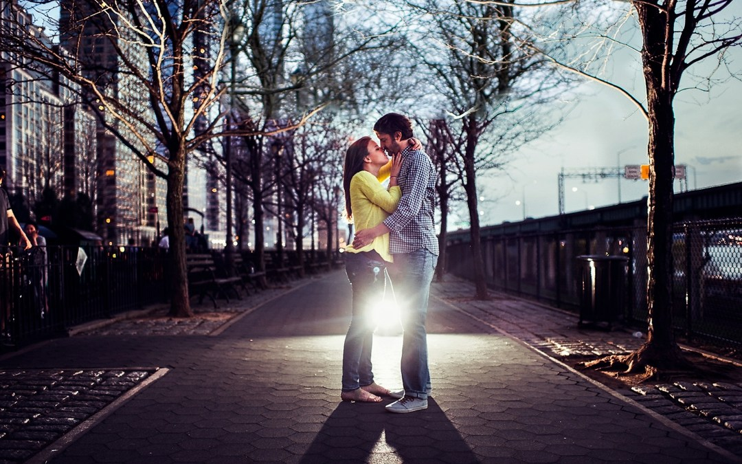 Hudson River Greenway Engagement Photos | Batya & Matt