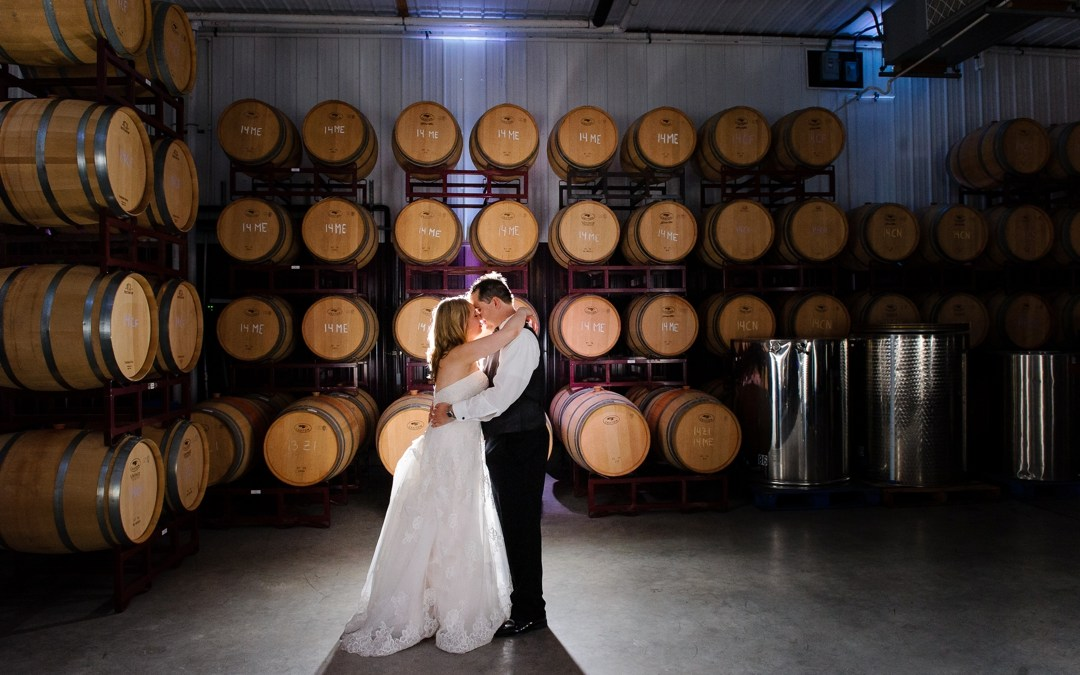 Valenzano Winery Wedding Photos | Caitlin + Ryan