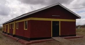 エンキジャペ校の改築した男子寮