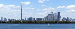 Toronto, ON Skyline (c) Wikipedia Commons