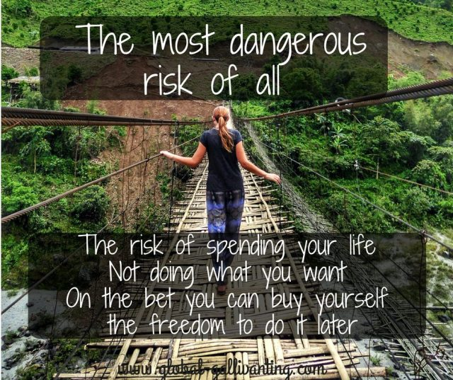The most dangerous risk of all travel quote