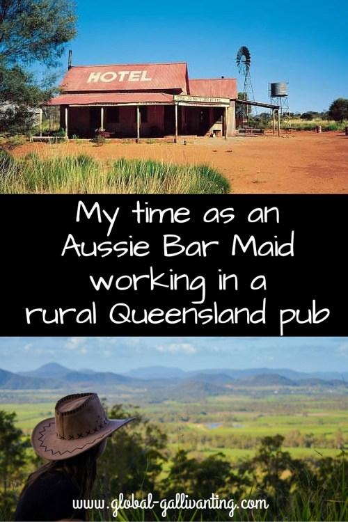 My time as an Aussie Bar Maid working in a rural Queensland pub