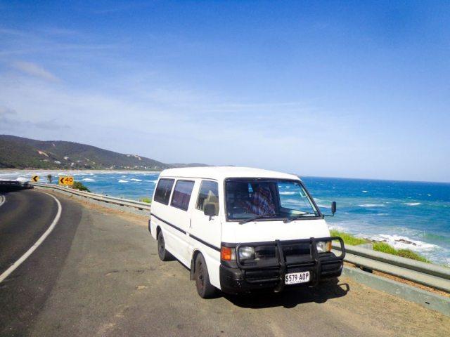 great ocean road trip campervan