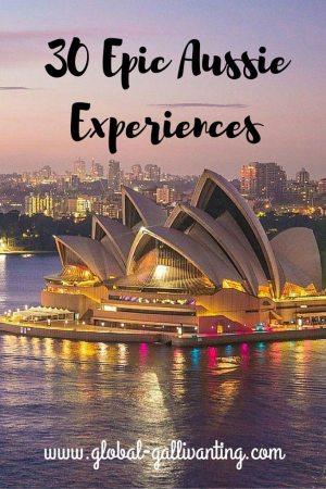 30 Epic Aussie Experiences