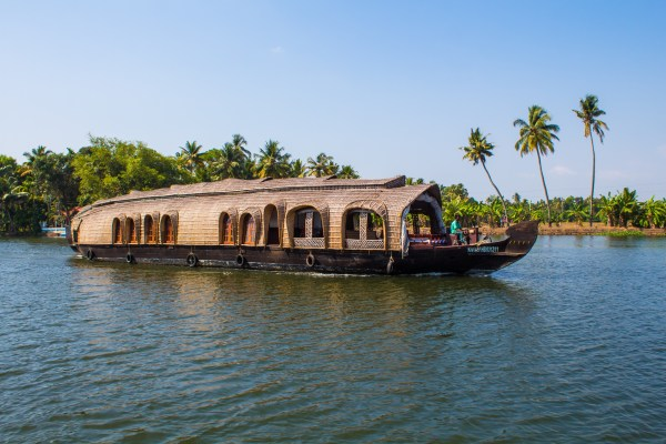Cruising the Kerala backwaters - a great start to an Indian adventure