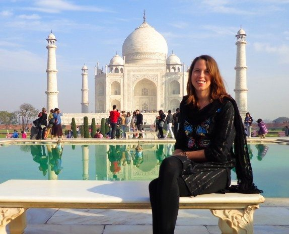 Me at the Taj Mahal on my first visit in Feb 2013