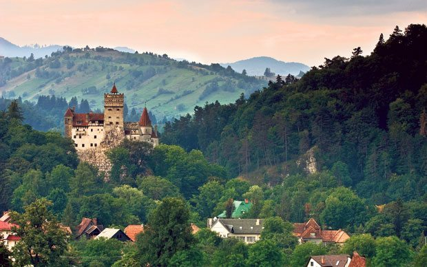 Transylvania in Romania is full of fairy tale castles and gorgeous countryside