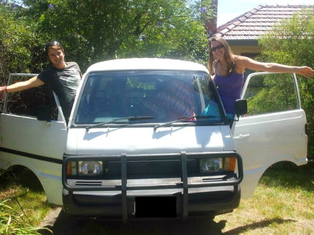 our new campervan. buying a campervan in australia - is it worth it?