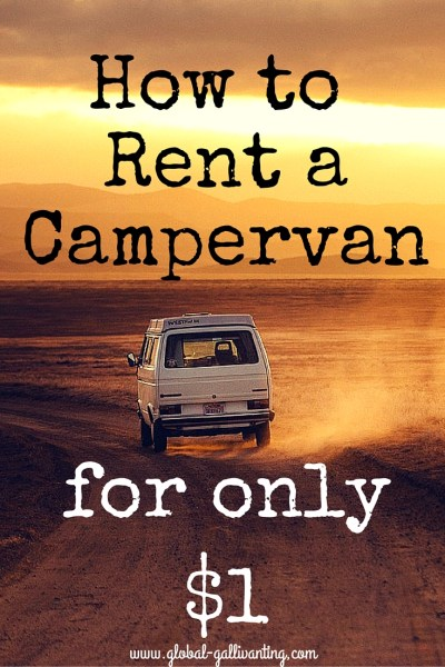 How to Rent a Campervan for Only $1